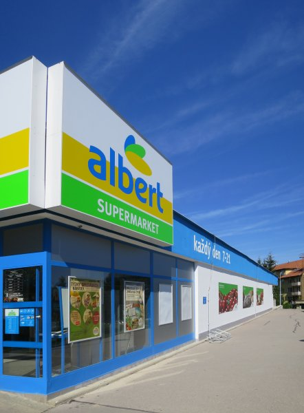 Supermarket Albert Bystrc 1